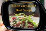 Carpaccio take away!
